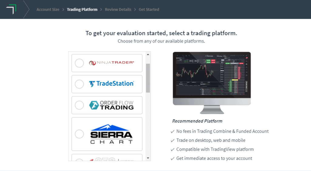 Trading Platform Selection with TopStep Trader - How to get a funded futures trading account