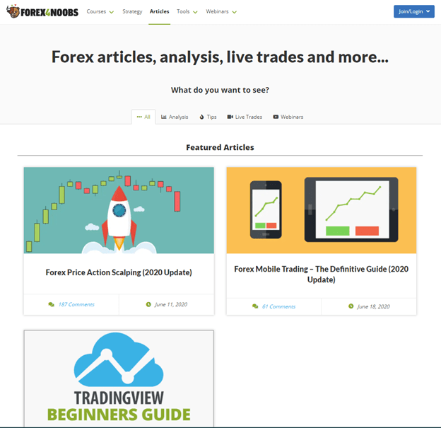 Best Forex Trading Blogs forex4noobs